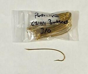 25 Partridge CS10/1G Bartleet Salmon Hooks, Size 3/0, Fly Tying, NR