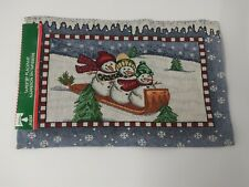 New listing christmas tapestry placemats
