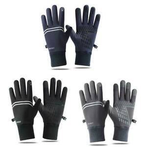Touch Screen Cycling Gloves Amazing Windproof Heated Gloves for Men Women