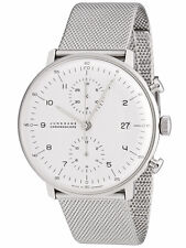 JUNGHANS MAX BILL CHRONOSCOPE cronografo automatico 027/4003 .44