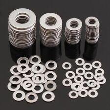105pcs Stainless Steel Washers Metric Flat Washer Repair Kit M3 - M10 Screw Set