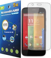 5x Clear Lcd Screen Protector Motorola Moto G 4G Lte Xt1040 Xt1042 Xt1045