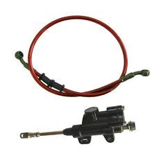 Red 100cm Fuel Line Brake Master Cylinder Pump Fit 50/110/125cc Pit Dirt Bike