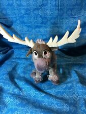 "Ty Beanie Babies Disney Frozen Sparkle Sven 8"" Beanbag Plush Stuffed Animal Toy"
