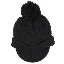 Chapeaux noire en fourrure taille unique pour femme