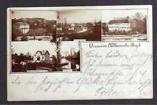 108651 AK Alt Kemnitz Stara Kamienica 1900 Warenhaus Bruno Wendler Schloss Fotok