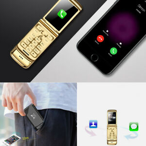Super Mini Mobile Phones FilpUlcool Dual Sim Unlocked Bluetooth Phone 1.54