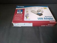 D-link DWL-G122 Airplus G 802.11g Wireless G Wi-Fi USB WiFi Adapter Dongle used