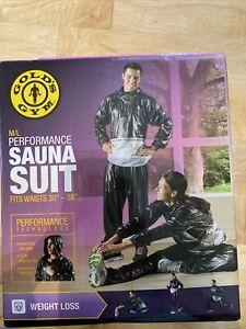 Gold's Gym Performance Sauna Suit, M/L W