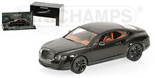 Minichamps - 2009 Bentley Continental Supersports - Black - 1:43 #436 139801 NEW
