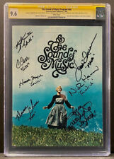 The Sound of Music Program #nn CGC 9.6 SS Signed By All (7) Von Trapp Kid Actors