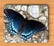 BLUE BUTTERFLY #6 CLOSE UP MOUSE PAD -efc3Z