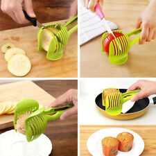 Potato Tomato Onions Lemon Fruit Vegetable Slicer Cutter Egg Peel Kitchen Holder