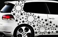93-teiliges Sterne Star Auto Aufkleber Set Sticker Tuning WANDTATTOO Blumen x12