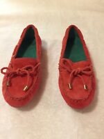 White Mountain Womens Surf Coral Suede MoccasIn Shoes Size 6.5M