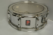 """ADD this VINTAGE PREMIER 14X5.5"""" SNARE in CHROME to YOUR DRUM SET TODAY! #K103"""