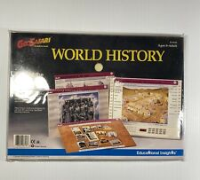 1993 GeoSafari Learning System World History 10 Cards 20 Lessons Cards EI-8718