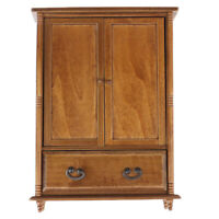 1:12 Dolls House Miniature Vintage Wooden Wardrobe Model Furniture AccessoSE
