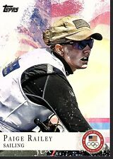 PAIGE RAILEY - 2012 OLYMPICS SAILING - TOPPS #53