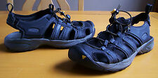 Keen Sport Sandals Mens Size 8.5 Leather Black