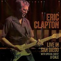 ERIC CLAPTON Live In San Diego With Special Guest JJ Cale 2CD BRAND NEW Gatefold