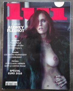 RARE magazine lui N°28 AUDREY FLEUROT juin 2016