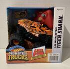 Hot Wheels Monster Trucks - 1:43 Radio Control - Tiger Shark New Bright - NIB