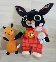 TALKING BING BUNNY soft toy PLUSH flop CBEEBIES light up HOPPITY VOOSH bundle