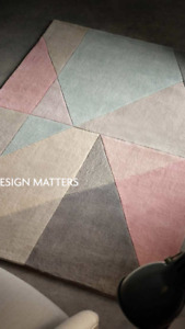 Origin Design Matters Abstract Pastel Colour Rug Barely Any Shed 3 Sizes