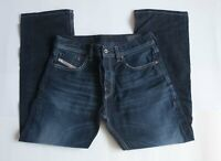 Diesel Jeans Larkee Relaxed Blue Eyecons 2012 Size 30x28 *G0522a8
