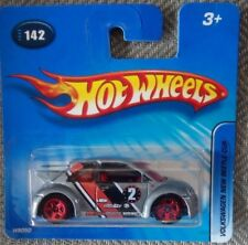Hot Wheels Die Cast Collectible - Volkswagen New Beetle Cup - Short Card