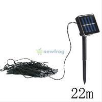 Solar Power 200 LED Fairy Light String Lamp For Xmas Party Wedding Garden Decor