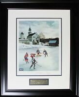 Saturday Morning Limited Edition /1999 Lithograph Signed Maurice Richard Bower