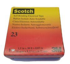 3M Scotch Rubber Splicing Tape 23 - 38mm x 9.15m x .75mm #23