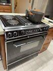 JENN-AIR S120 Downdraft Grill-Range Oven 1987 Vintage Oven/Stove x4 Burners photo