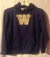University Of Washington Huskies Nike Therma-Fit Youth Boys Hoodie Sweatshirt Lg
