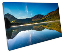 LAKE BUTTERMERE THE LAKE DISTRICT CANVAS WALL ART PICTURE LARGE 75 X 50 CM