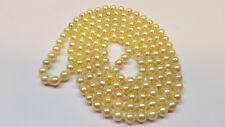 LUNGO Akoya Collana di perle collier CHIUSO - Collier/COLLANA L 116 cm