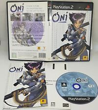 Oni Sony PlayStation 2 2001 European Version ONI PS2 FREE POSTAGE VGC