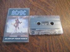 cassette audio AC/DC blow up your video