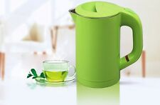Green Mini  Stainless Steel Capacity 0.6L Kitchen Electric Kettle