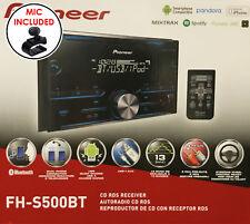 Pioneer FH-S500BT Double Din CD Receiver w/ Bluetooth | Pandora | Spotify | USB