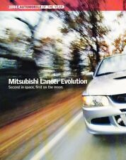 2004 Mitsubishi Lancer Evolution Original Car Review Report Print Article J937