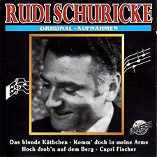 Rudi Schuricke Original-Aufnahmen (14 tracks, #un1079) [CD]