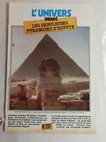 N70 Rivista Universo Okapi N° 237 I Favoloso Piramidi Egitto