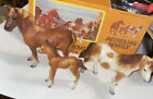 Byers Mustang Family 3 Horse Lot W Box Vintage!