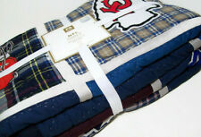 Pottery Barn Teen Nfl Afc American Foot Ball Conference Team Logo Twin Quilt New