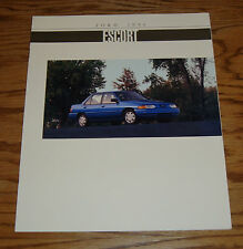 Original 1994 Ford Escort Sales Brochure 94 LX GT