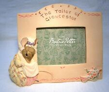 BORDER FINE ARTS BEATRIX POTTER  PHOTO FRAME  TAILOR OF GLOUCESTER  MIB (B701)