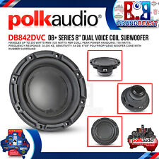 """Polk Audio DB842DVC 8"""" 750w Dual Voice Coil Subwoofer With Marine Certification"""